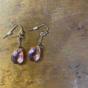 Pale Pink Earrings never worn